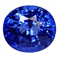 Sapphire-Oval: 5.36ct