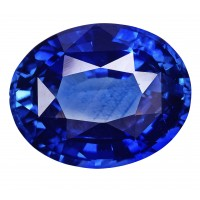 Sapphire-Oval: 4.66ct