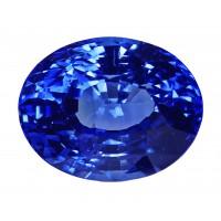 Sapphire-Cushion: 5.47ct