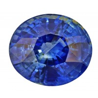 Sapphire-Oval: 3.53ct