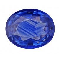 Sapphire-Oval: 3.4ct