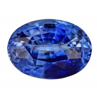 Sapphire-Oval: 4.04ct