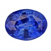 Sapphire-Oval: 3.73ct