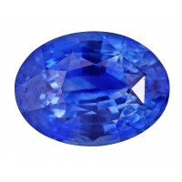 Sapphire-Oval: 4.77ct