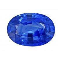 Sapphire-Oval: 2.84ct