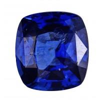 Sapphire-Cushion: 2.63ct