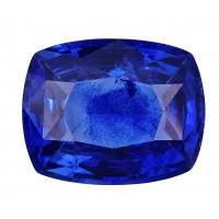Sapphire-Cushion: 2.28ct