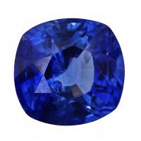 Sapphire-Cushion: 2.7ct
