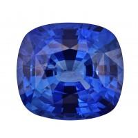 Sapphire-Cushion: 2ct
