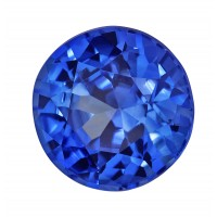 Sapphire-Round: 1.42ct