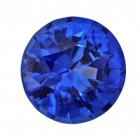 Sapphire-Round: 1.19ct