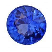 Sapphire-Round: 1.63ct
