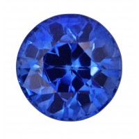 Sapphire-Round: 1.24ct
