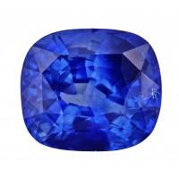 Sapphire-Cushion: 4ct