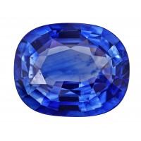 Sapphire-Cushion: 4.24ct