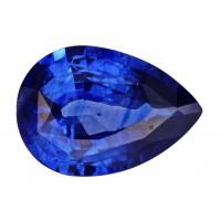 Sapphire-Pear: 3ct
