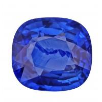 Sapphire-Cushion: 3.73ct