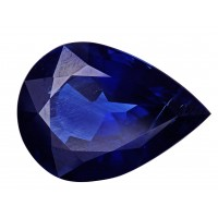 Sapphire-Pear: 7.86ct