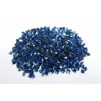 Sapphire-Princess Cut: 3.0mm - 4.0mm
