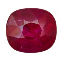 Ruby-Cushion: 3.31ct