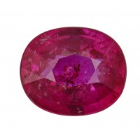 Ruby-Oval: 2.09ct