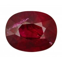 Ruby-Oval: 2.17ct