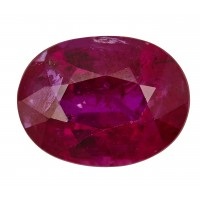 Ruby-Oval: 2.35ct