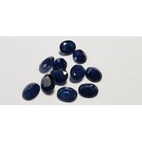 Sapphire-Oval: 10mm x 8mm