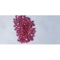 Ruby-Oval: 7mm x 5mm