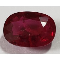 Ruby Oval: 7.05ct