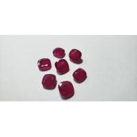 Ruby Cushion: 8mm
